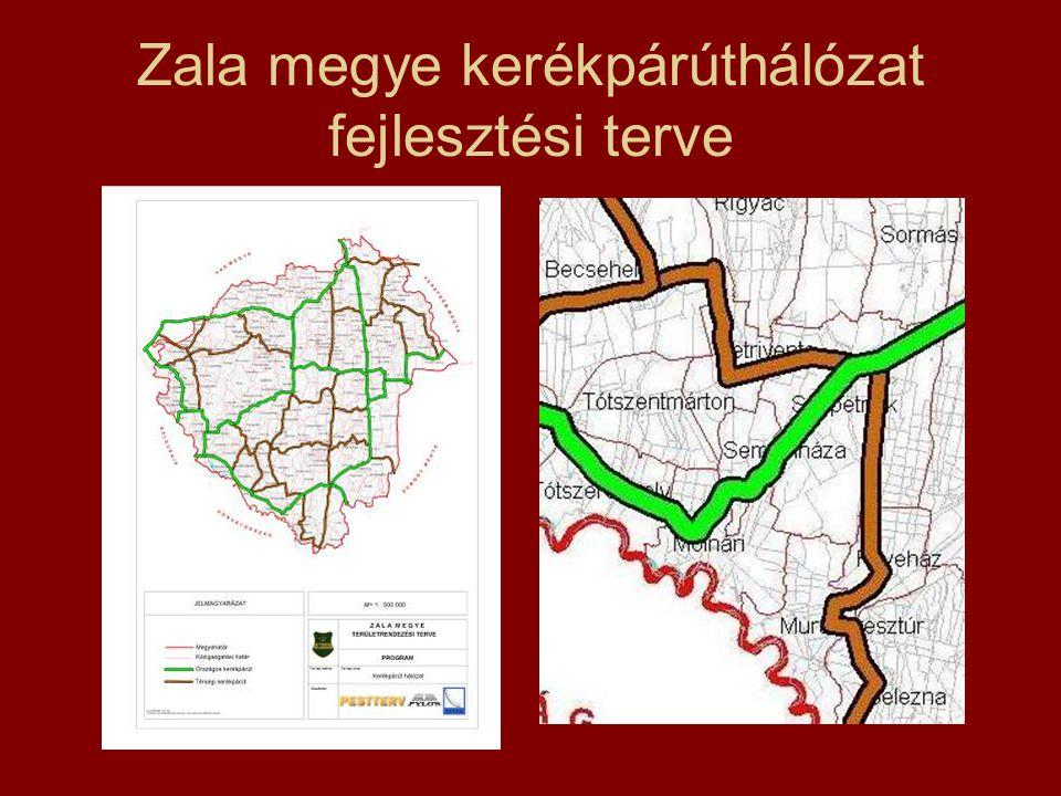 Zala megye kerékpárúthálózat fejlesztési terve