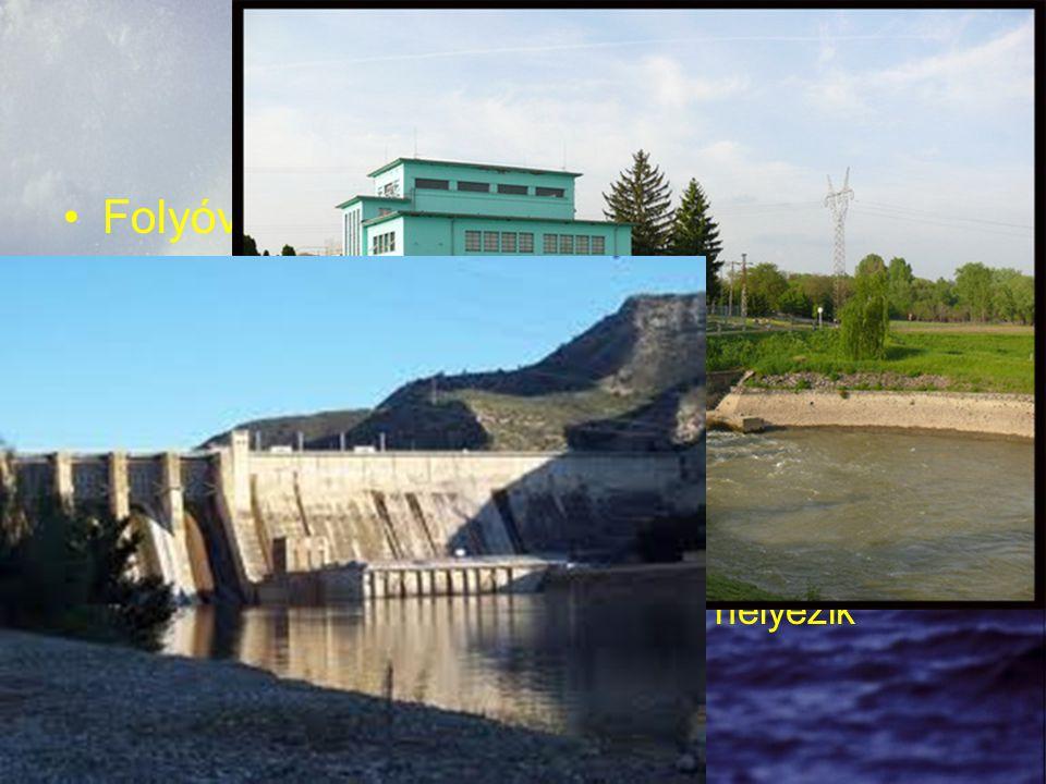 Vízerőművek Folyóvízes erőmű –Gyors folyású folyókra, patakokra telepítenek –A teljesítménye a vízhozamtól függ Tározós erőmű vagy csúcserőmű –Magasan