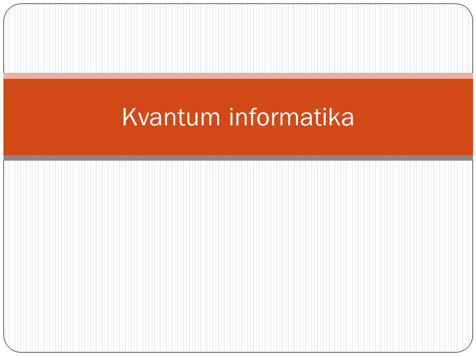 Kvantum informatika