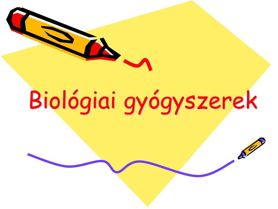 Biológiai gyógyszerek