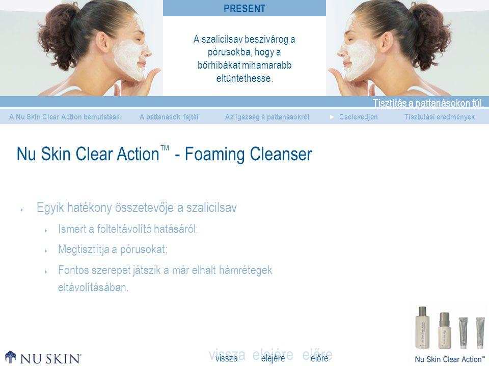 elejére Tisztítás a pattanásokon túl. A Nu Skin Clear Action bemutatásaAz igazság a pattanásokrólCselekedjenTisztulási eredmények vissza előre A patta