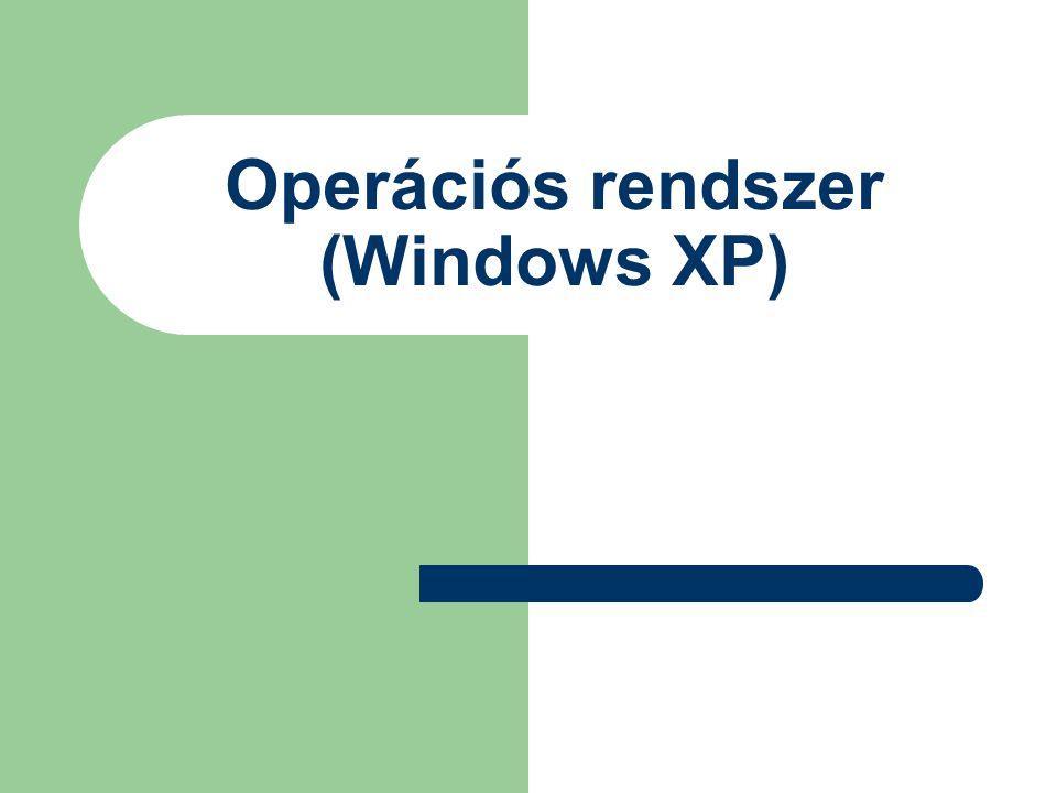 Operációs rendszer (Windows XP)