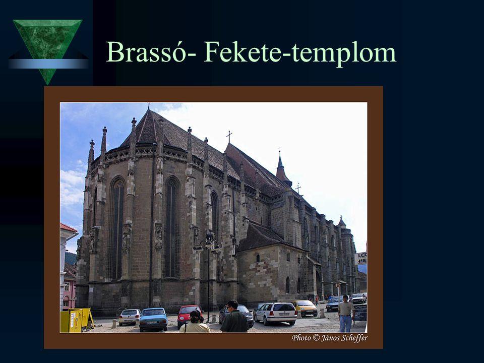 Brassó- Fekete-templom