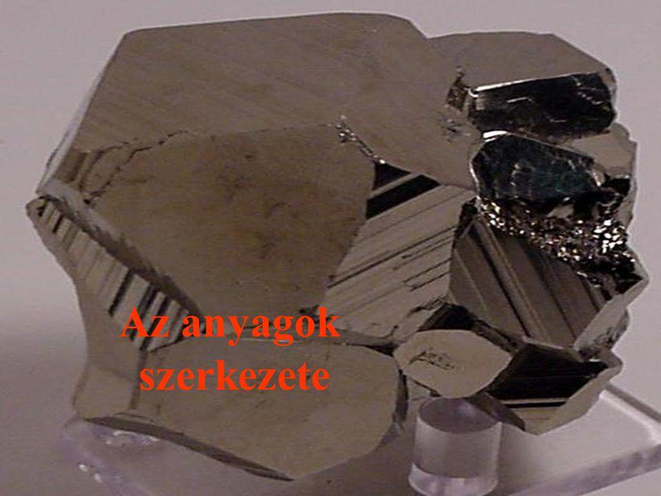 Tökéletes rács – Reális rács Rácshibák Kiterjedés szerint:  Nulladimenziós (pontszerű) rácshibák  Egydimenziós (vonalszerű) rácshibák  Két- és háromdimenziós (sík és térbeli) hibák