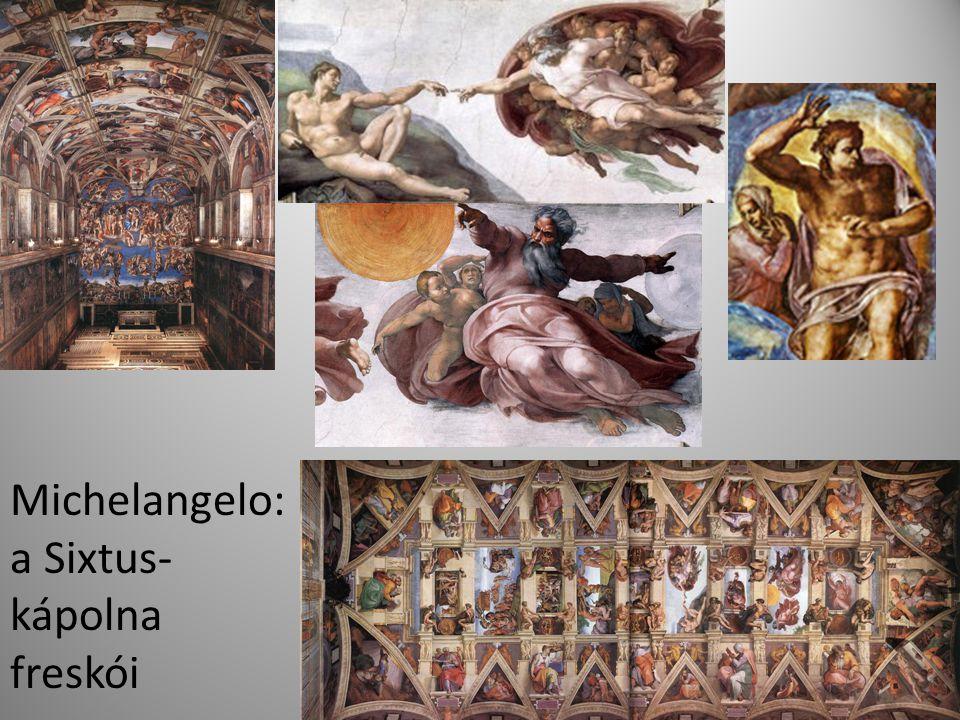 Michelangelo: a Sixtus- kápolna freskói
