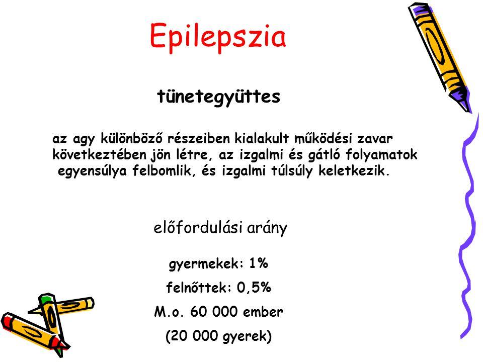Epilepszia agyi sérülésöröklött születéskor kialakult oxigénhiány fejsérülés gyi vérömleny agyvérzés agydaganat