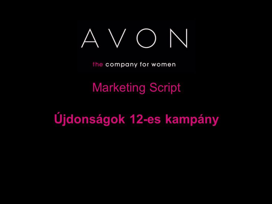 Marketing Script Újdonságok 12-es kampány