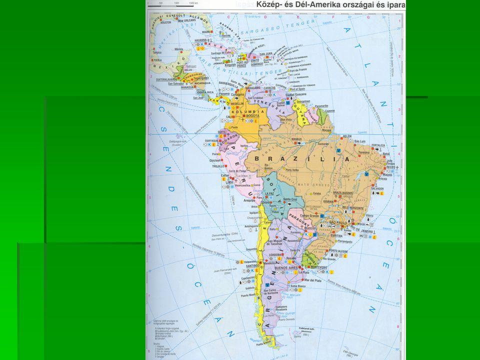  GAZDASÁGI NÖVEKEDÉSI PÁLYÁK A 80-AS ÉVEKIG EGYKORI SPANYOL PORTUGÁL GYARMATI TERÜLETEK,EGYKORI SPANYOL PORTUGÁL GYARMATI TERÜLETEK, 19.