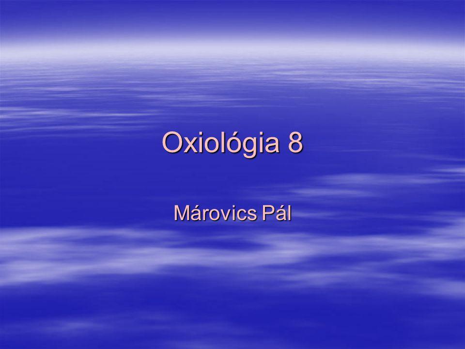 Oxiológia 8 Márovics Pál