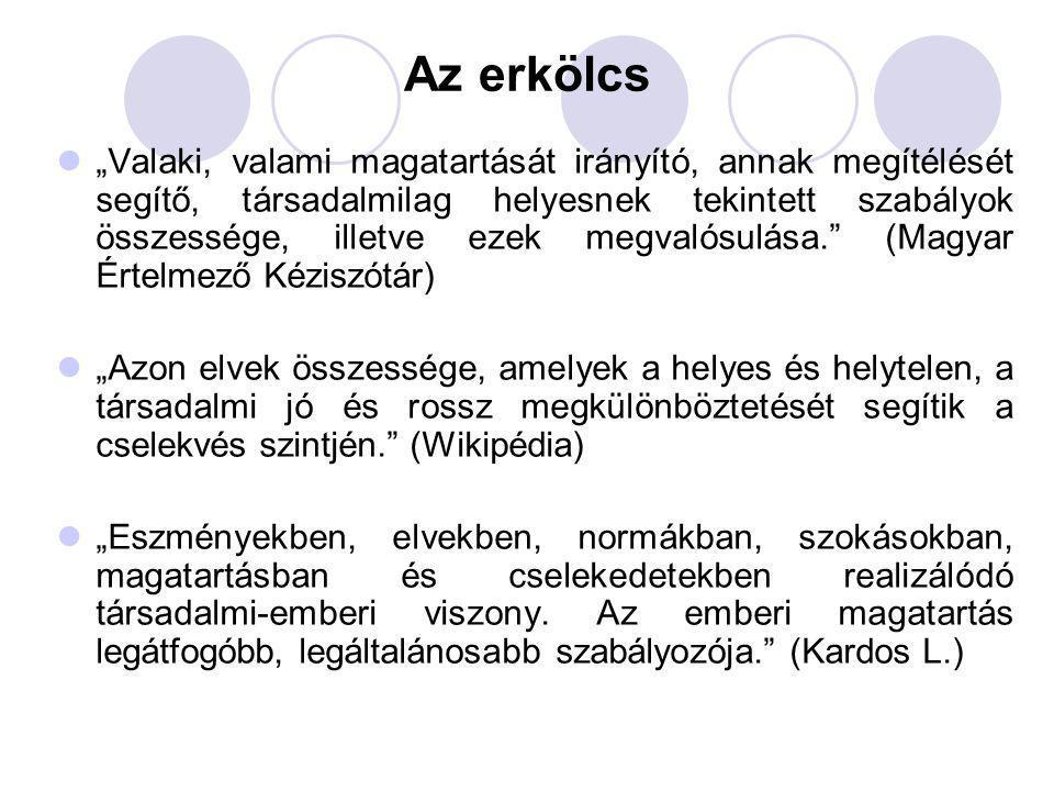 Etikai kódex példák