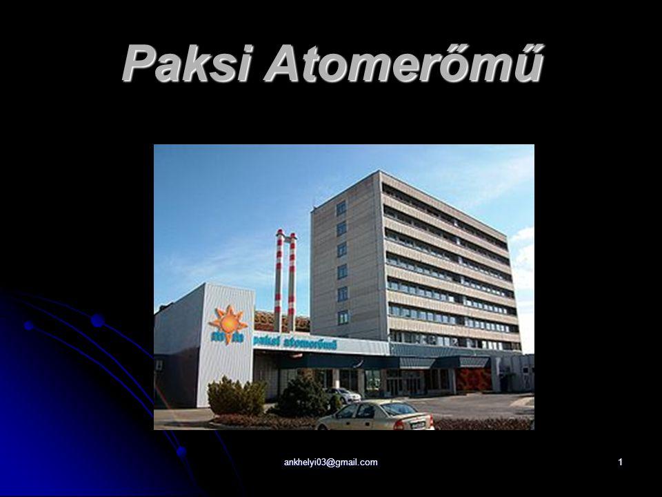 ankhelyi03@gmail.com1 Paksi Atomerőmű