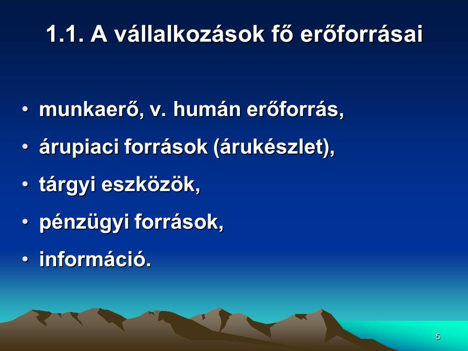 26 4.1.A kereskedelmi munka jellege II.