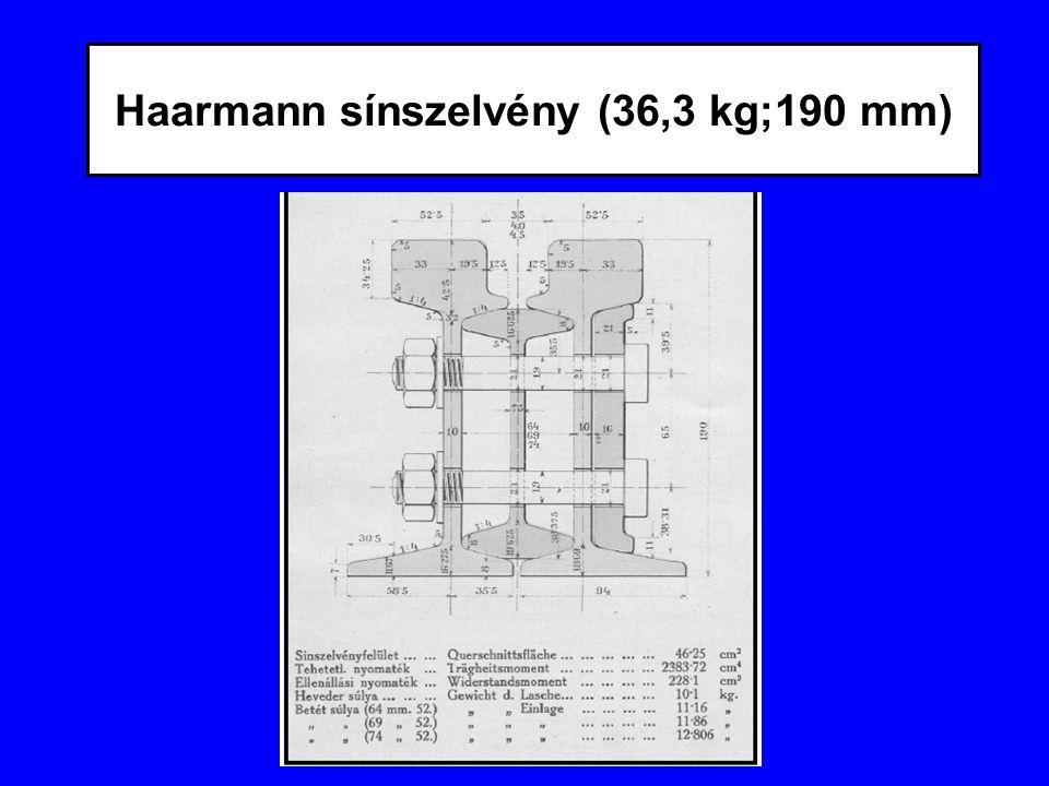 Haarmann sínszelvény (36,3 kg;190 mm)