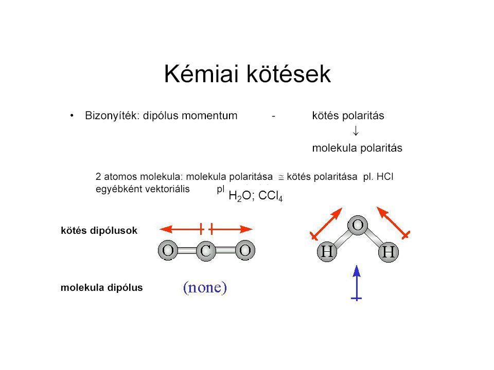H 2 O; CCl 4