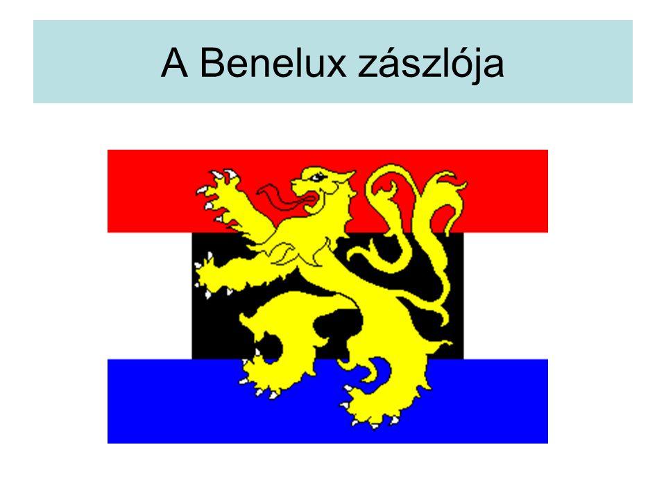 A Benelux zászlója