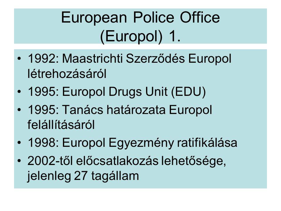 European Police Office (Europol) 1.