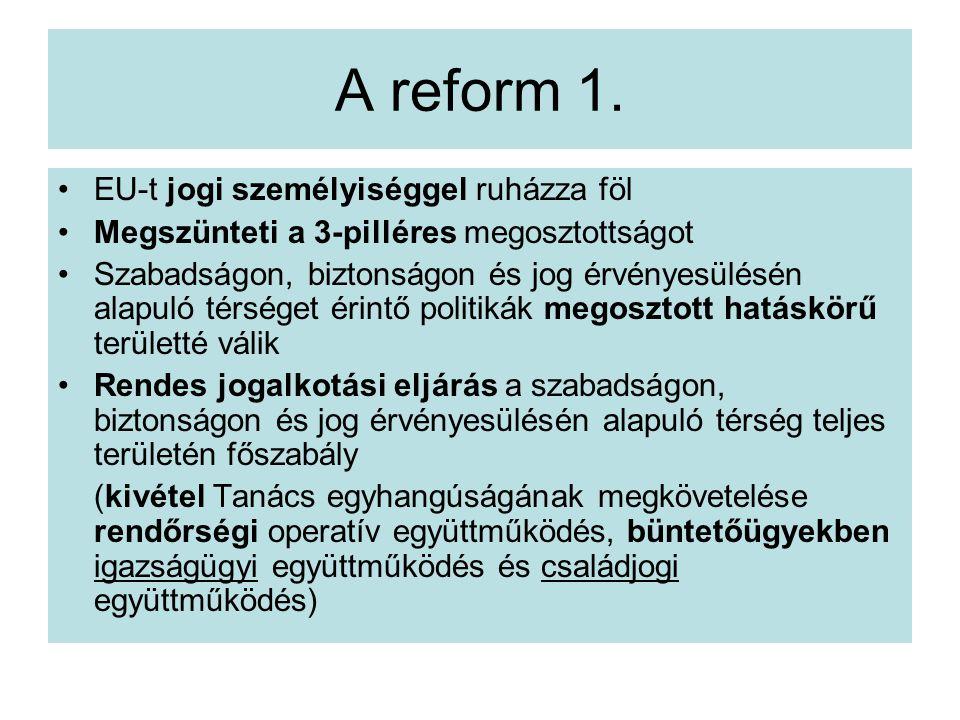 A reform 1.