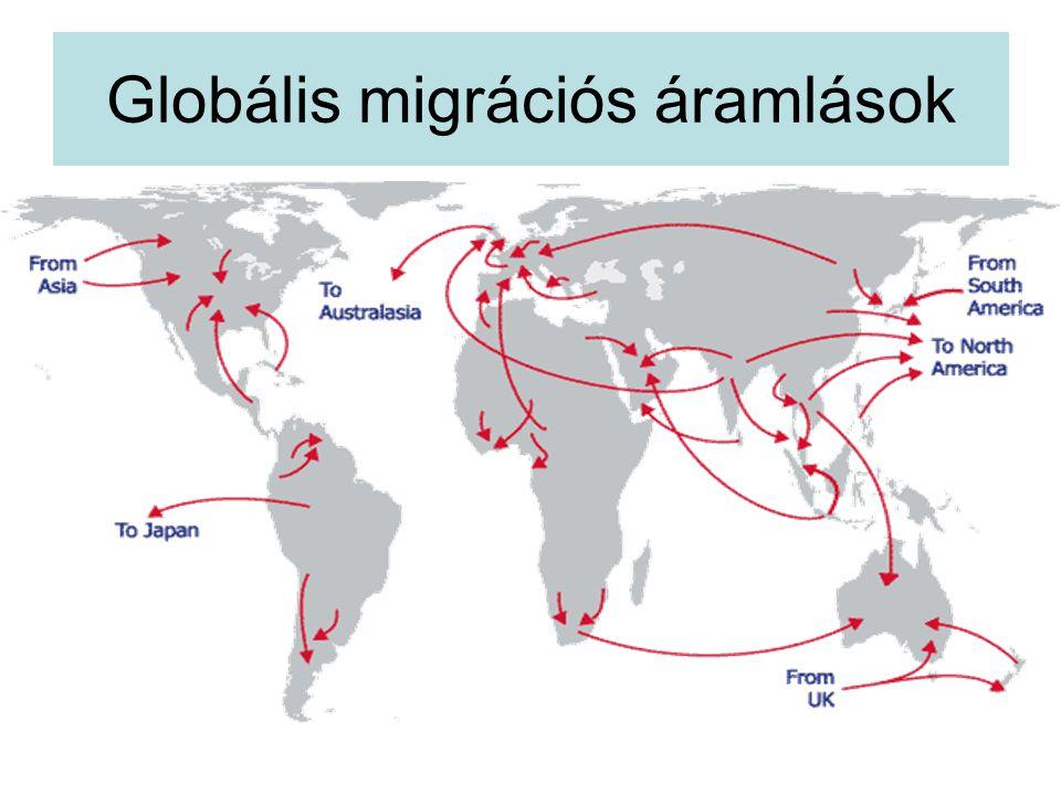 Globális migrációs áramlások