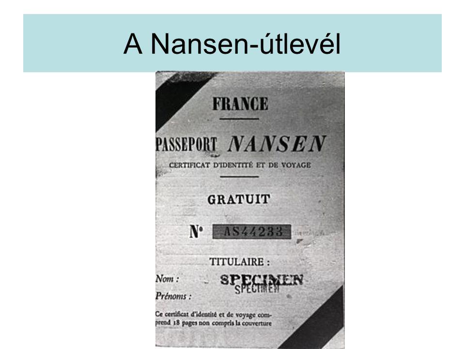 A Nansen-útlevél