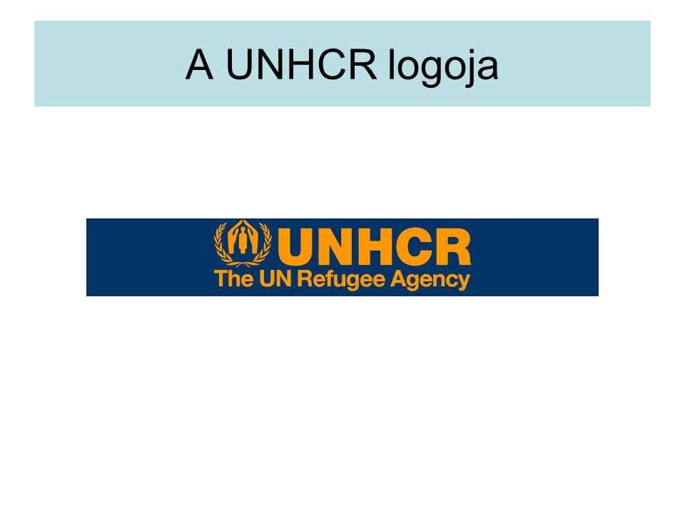 A UNHCR logoja
