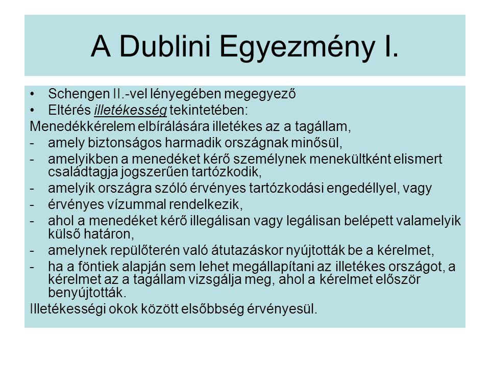 A Dublini Egyezmény I.