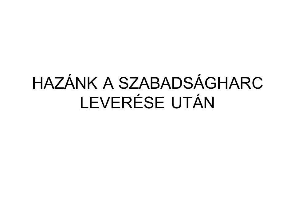 A SZABADSÁGHARC ELBUKOTT ( HAYNAU RÉMURALMA.) A SZAB.