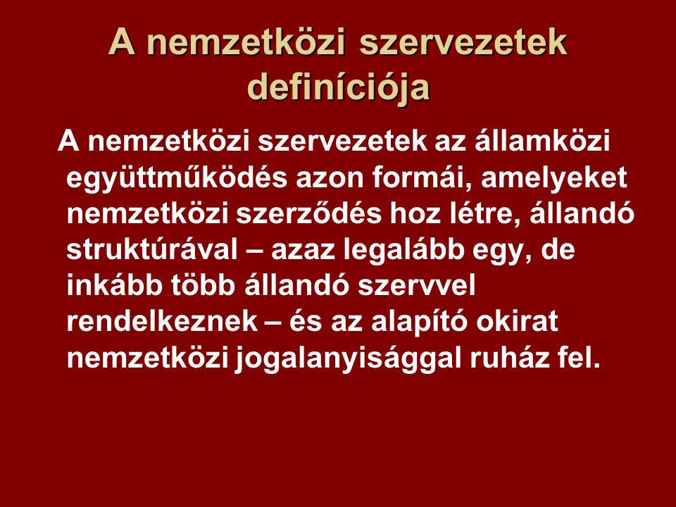 Működési mechanizmus A működési rendet az eljárási szabályok határozzák meg.