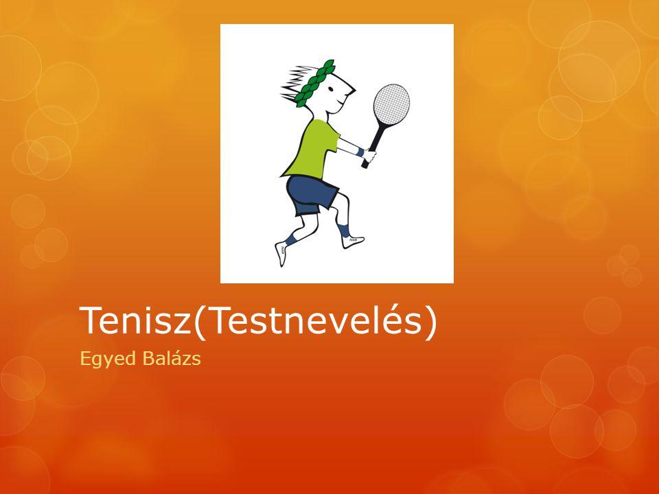 Tenisz(Testnevelés) Egyed Balázs