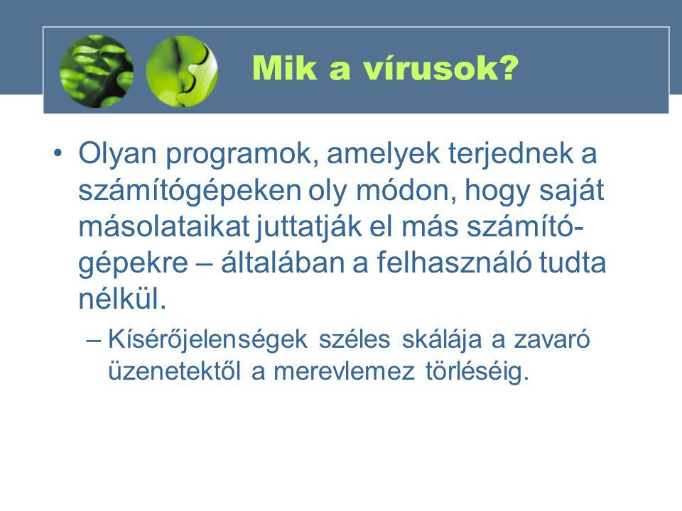 Mik a vírusok.