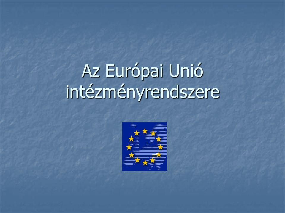 Európai Unió Tanácsa Döntéshozó, jogalkotó szerv.Döntéshozó, jogalkotó szerv.