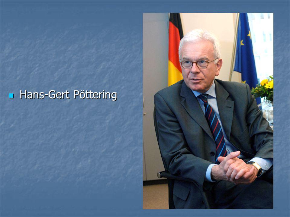 Hans-Gert Pöttering Hans-Gert Pöttering