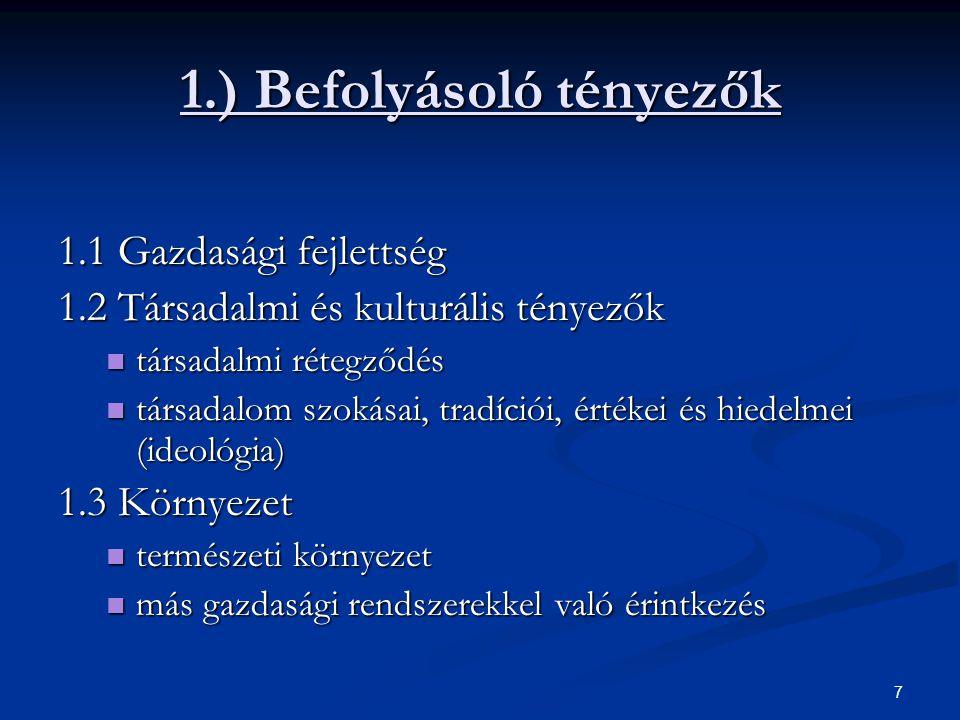 18 A MODERN KAPITALIZMUS I.