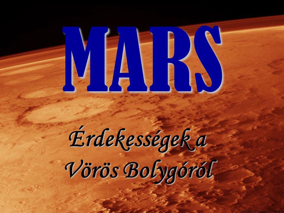 Holdjai 2 hold Mars gyermekei Phobos és Deimos A Mars két szabálytalan alakú holdja jobban hasonlít a kisbolygókra, mint a nagyobb holdakra