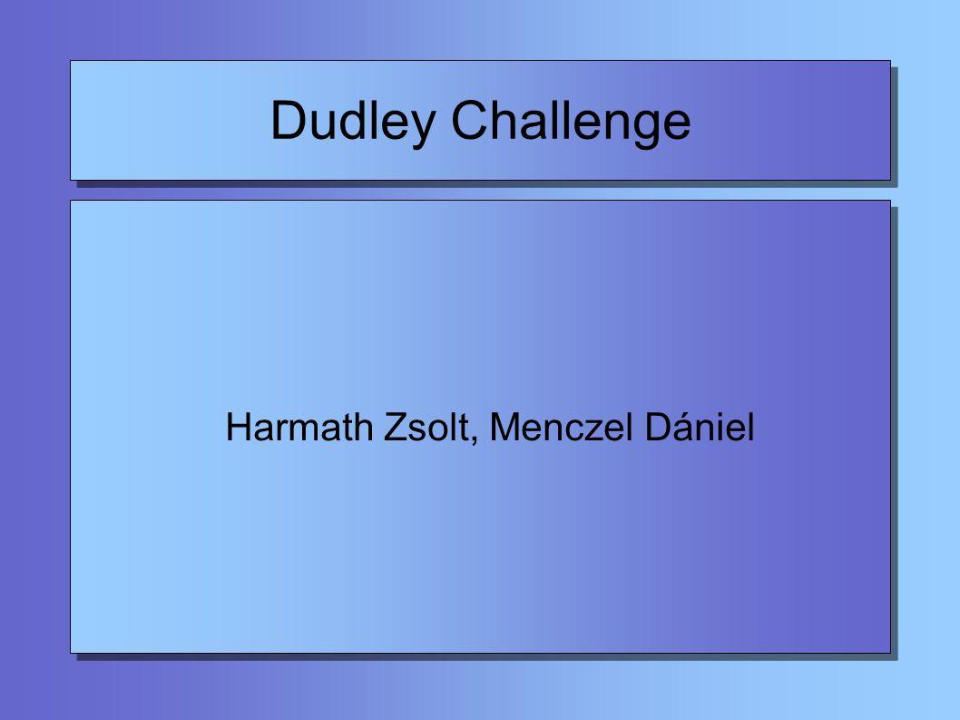Dudley Challenge 2000 Problémamegoldó utazás 2000.
