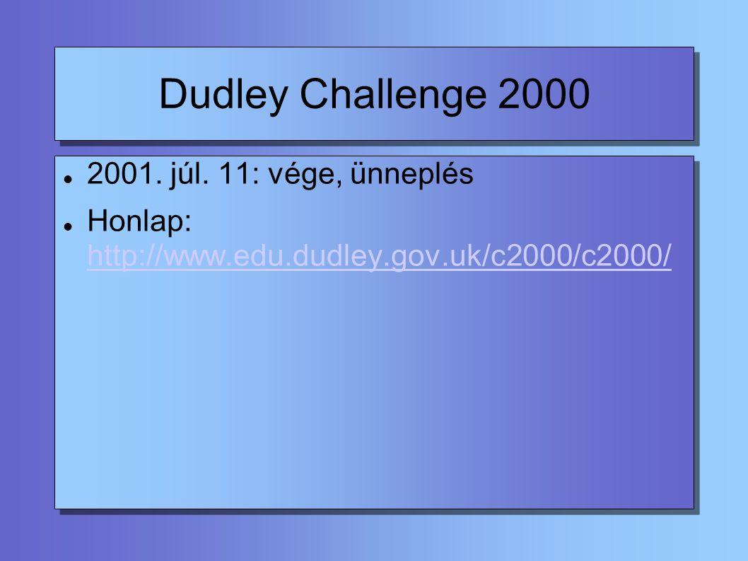 Dudley Challenge 2000 2001. júl.