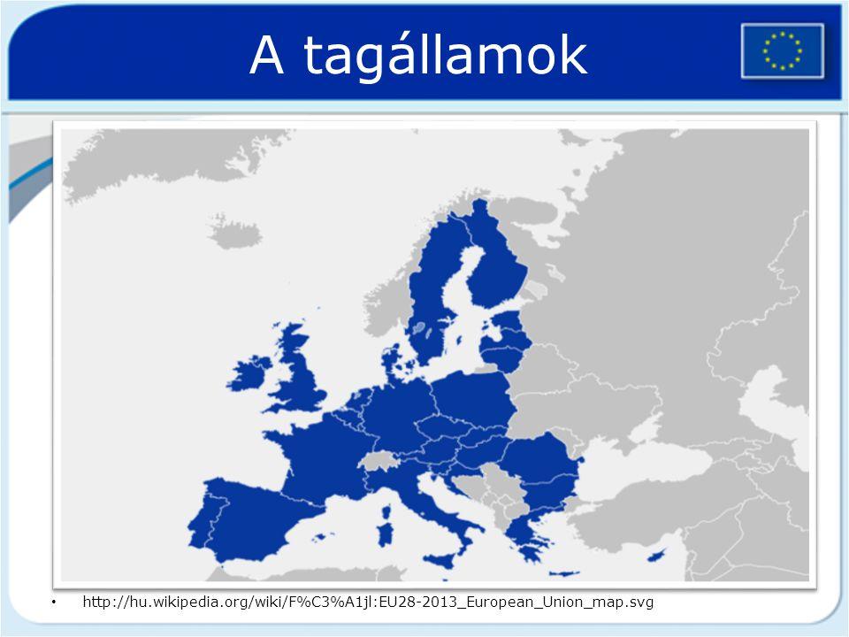 A tagállamok Ausztria (1995), Belgium (1952), Bulgária (2007), Ciprus (2004), Cseh Köztársaság (2004), Dánia (1973), Egyesült Királyság (1973), Észtor