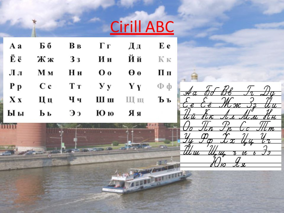 Cirill ABC