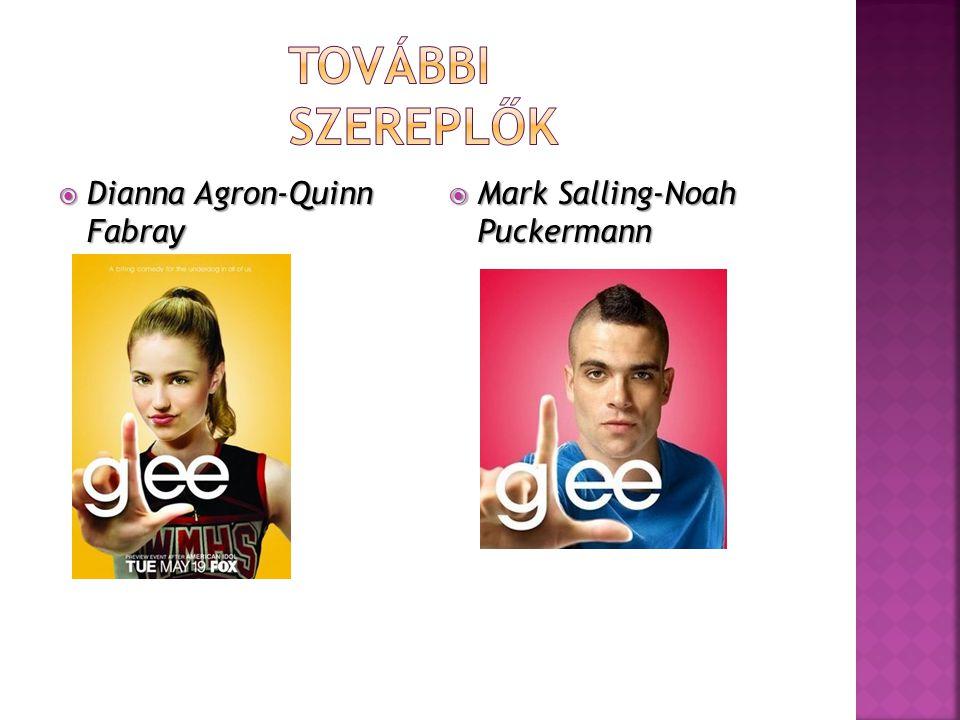  Dianna Agron-Quinn Fabray  Mark Salling-Noah Puckermann