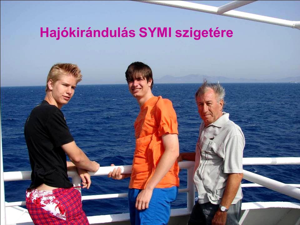 Hajókirándulás SYMI szigetére