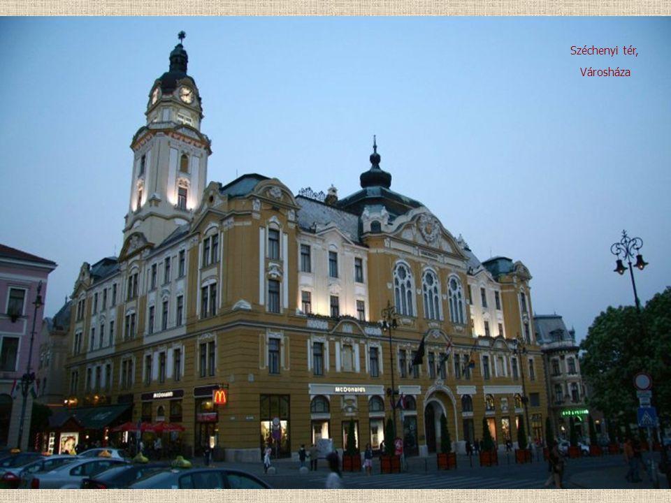 Városháza Széchenyi tér,