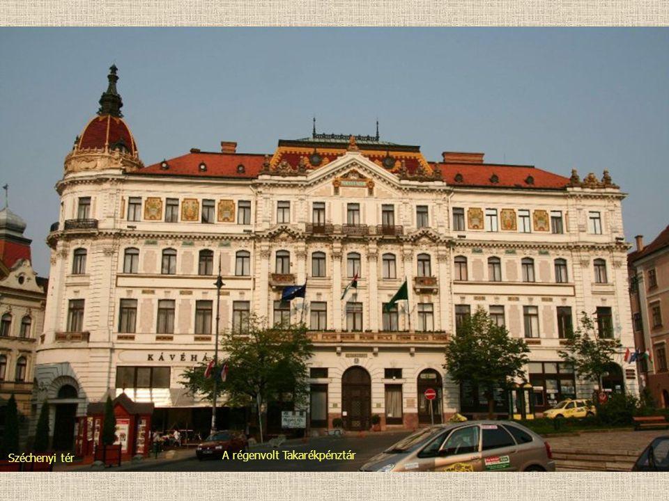 A régenvolt Takarékpénztár Széchenyi tér