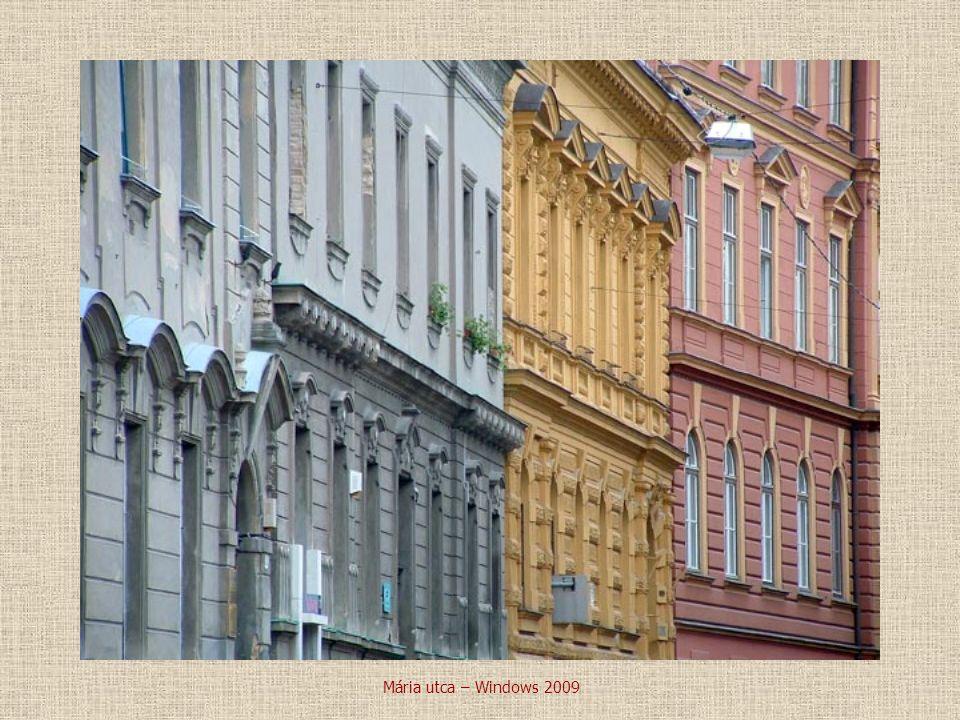 Mária utca – Windows 2009