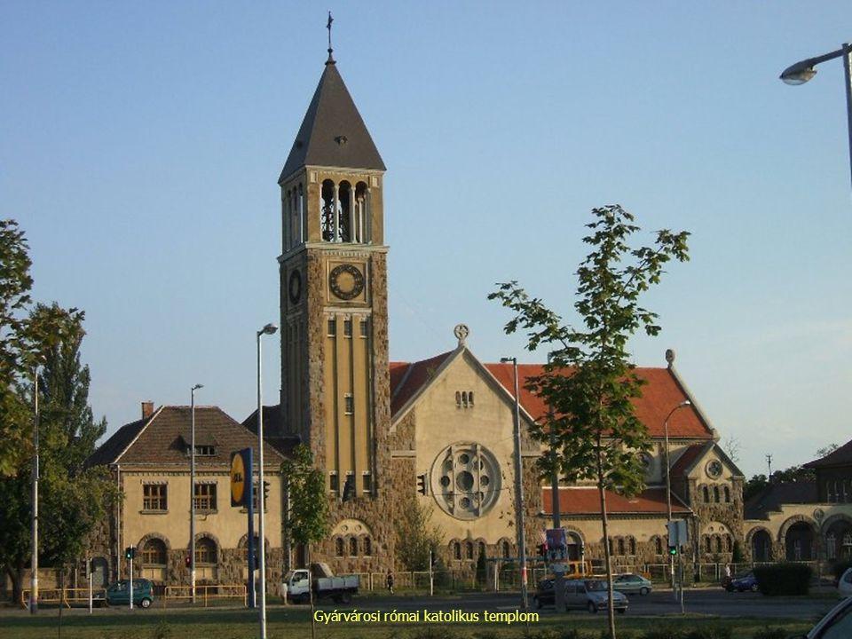 Gyárvárosi római katolikus templom