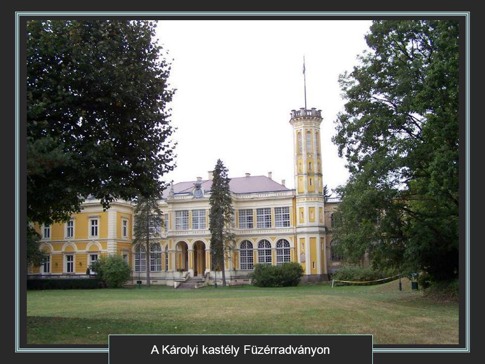 A Károlyi kastély Füzérradványon