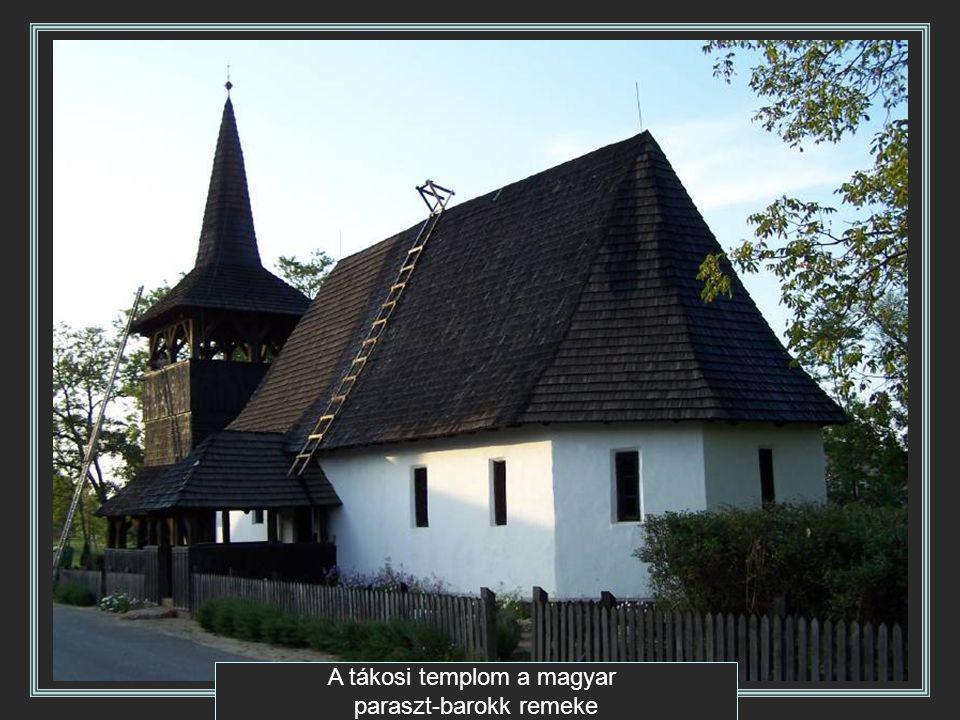 A tákosi templom a magyar paraszt-barokk remeke