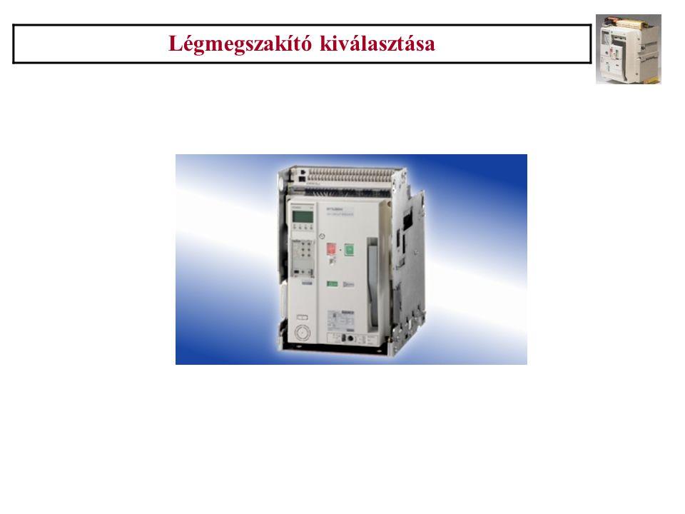 Siemens Tumetic Légmegszakító kiválasztása 11.