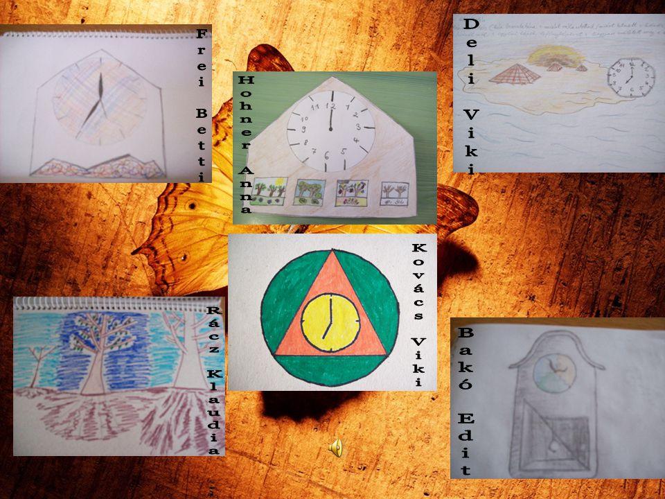Az idő és az ember A háromszög három oldalával jelképezi,hogy életük bizonyos szakaszokból áll: születés, élet, halál.