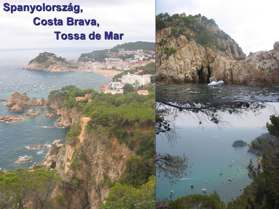 Spanyolország, Costa Brava, Costa Brava, Tossa de Mar Tossa de Mar