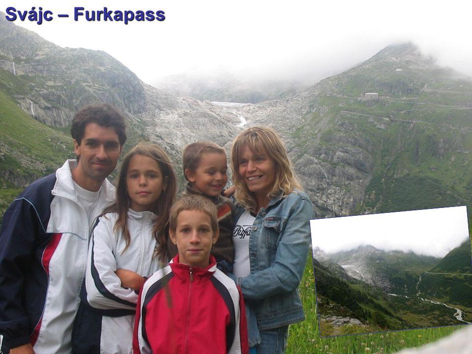 Svájc – Furkapass