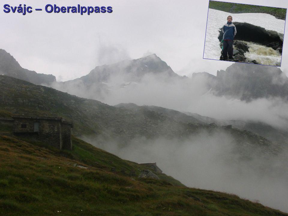 Svájc – Oberalppass